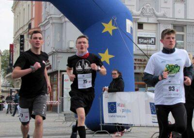 Účast na běžeckém závodě